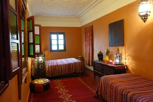 Quarto - Dar Rita - Hotel Marrocos