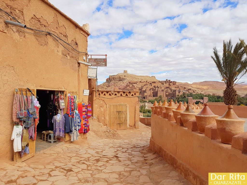 VIEW OF AIT BENHADDOU