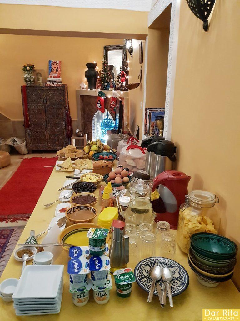 Breakfast at Dar Rita