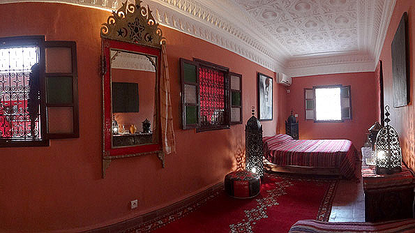 Rooms at riad Dar Rita