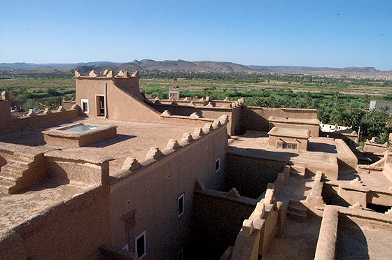 Photo of Ouarzazate from the top of Taourirt Kasbah