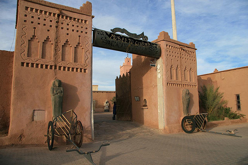 Cinema Museum in Ouarzazate Morocco