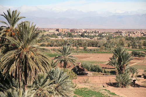 Ouarzazate center in Ouarzazate Morocco