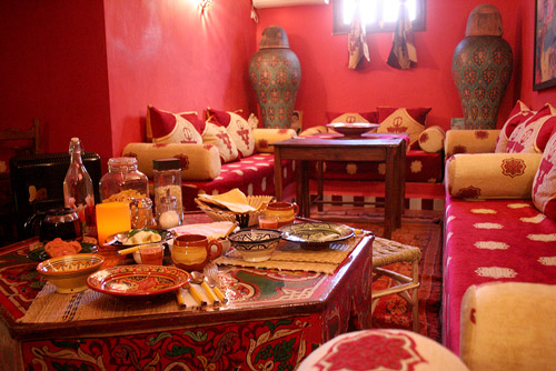 Breakfast at Dar Rita in Ouarzazate