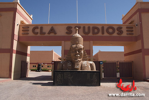 Photo of the CLA Cinema Studios in Ouarzazate