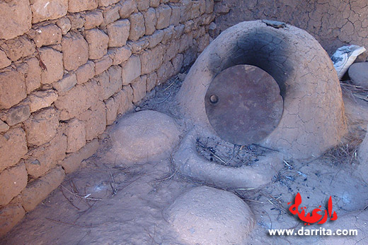 Photo of the traditional oven to bake bread in Tassoumaat district of Ouarzazate
