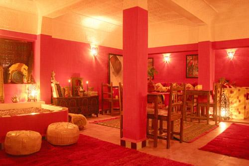 Riad Architecture Room Morocco