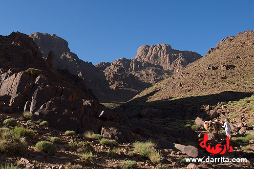 Trekking in Saghro Mountains