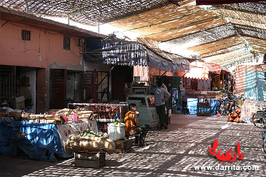 Mercado central de Ouarzazate