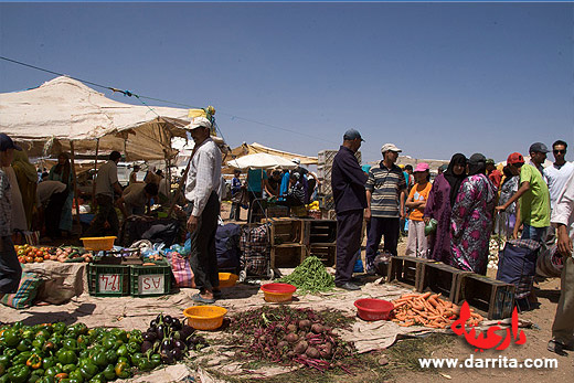 Ouarzazate Sunday Market