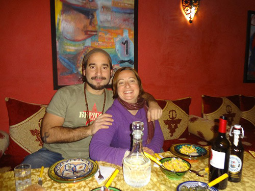 Rita Leitão and João Leitão - the owners of Dar Rita
