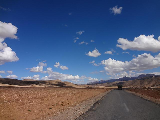 Autocarro Erfoud até Ouarzazate em Marrocos