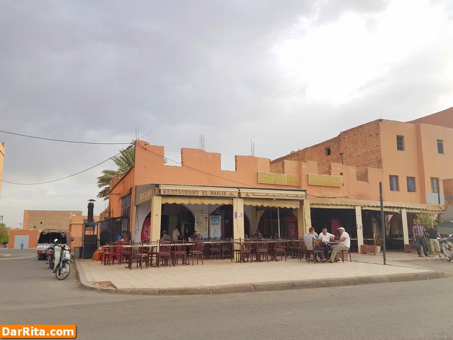 El Bahja, Restaurante Barato em Ouarzazate Marrocos