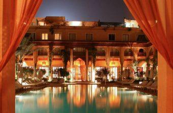 Restaurante Indiano Les Jardins de Bala em Marrakech Marrocos