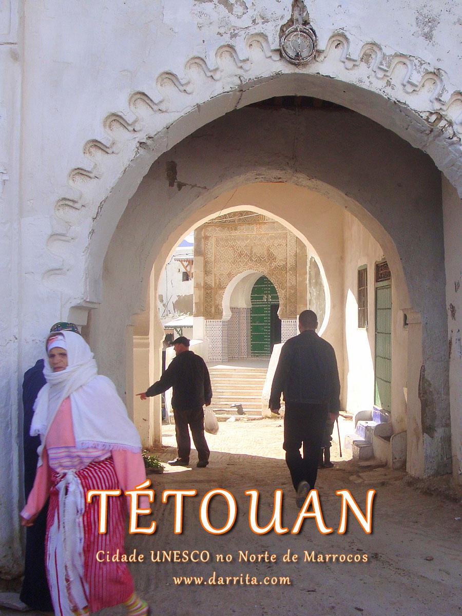 Tetouan cidade UNESCO Património Mundial da Humanidade