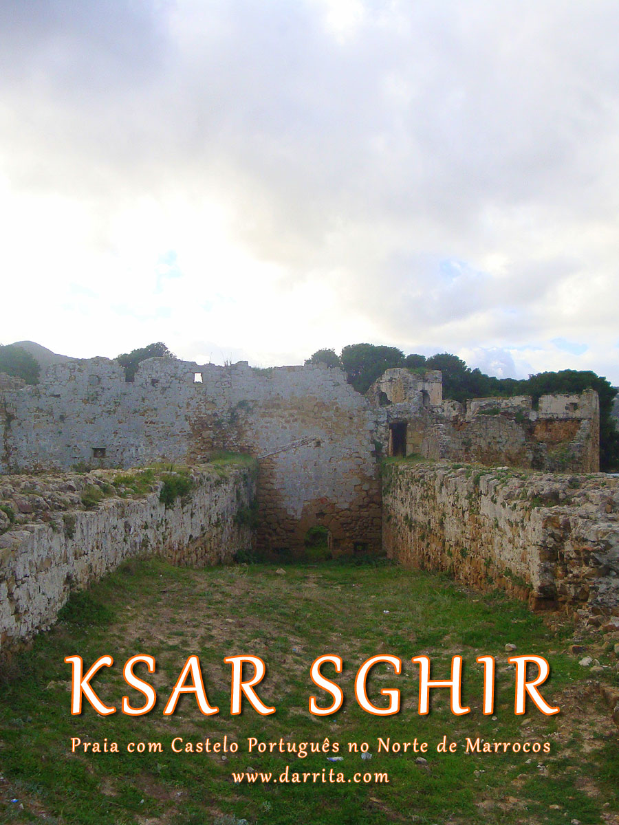 Castelo de Alcácer-Ceguer no norte de Marrocos