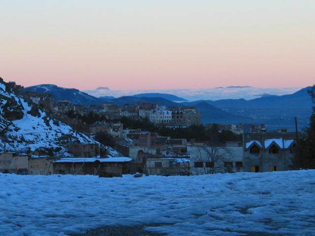 Azrou, Cidade nas Montanhas do Médio Atlas Marrocos