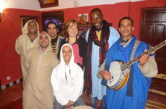 Rita em Marrocos