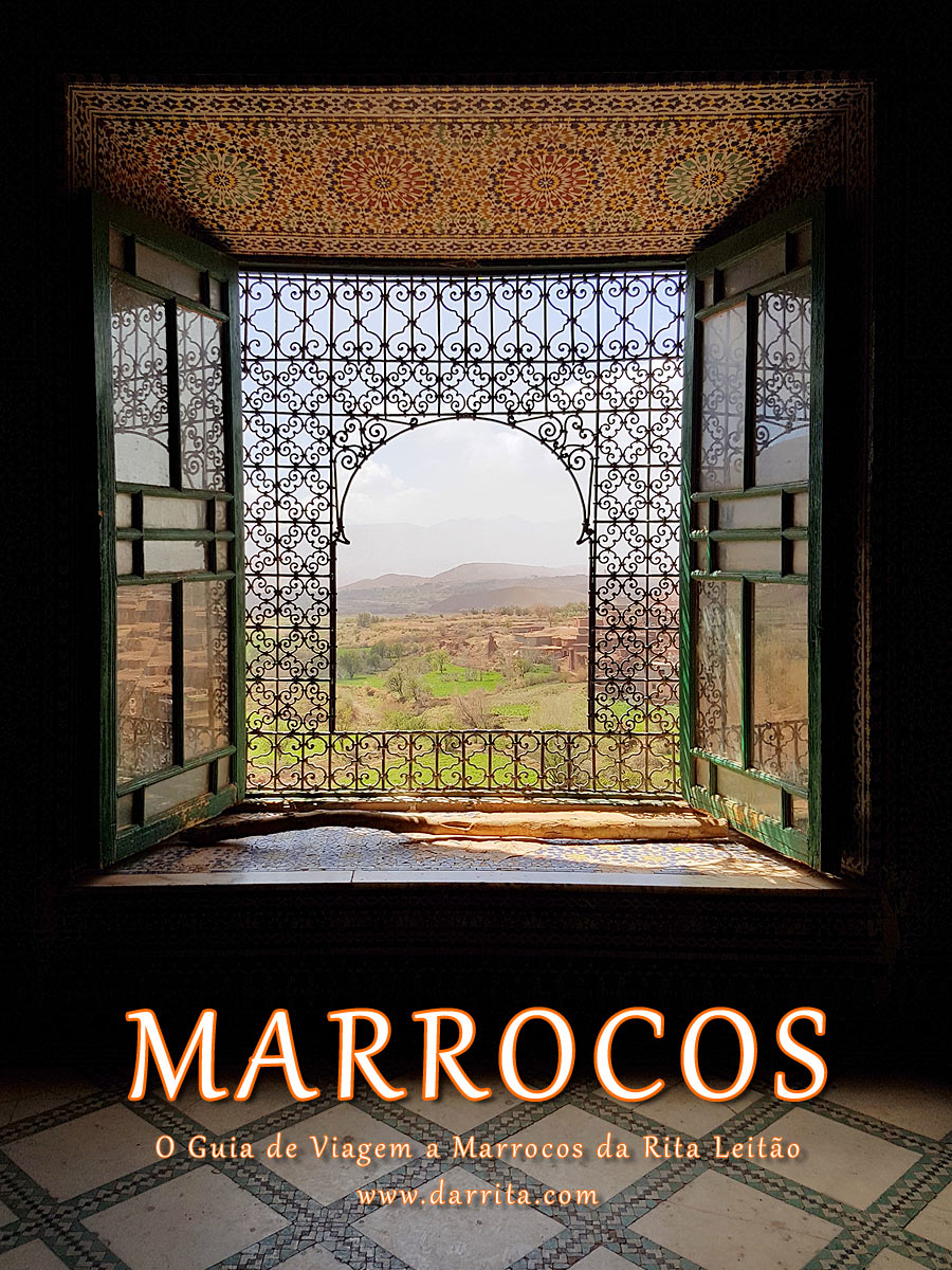 O Guia de Viagem a Marrocos da Rita Leitão