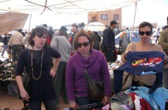 Regatear compras em Marrocos
