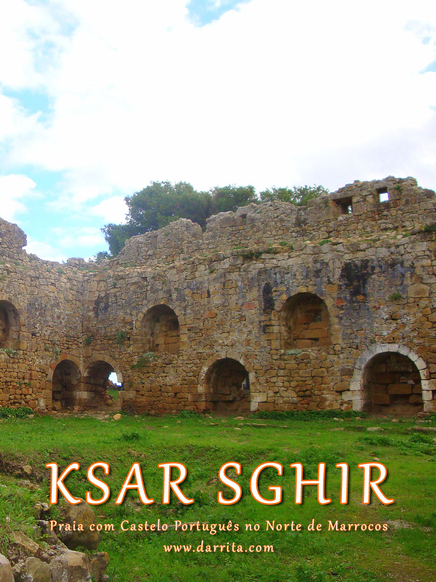 Ksar Sghir - Alcácer-Ceguer, pequena aldeia marroquina na costa mediterrânica