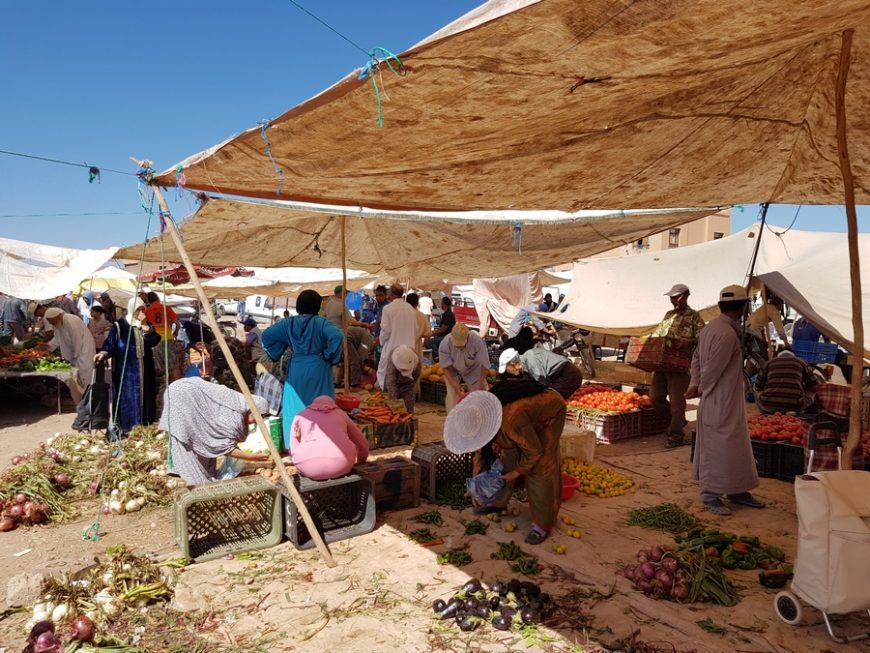 Como é Viver em Marrocos, Exemplo de um Dia em Marrocos
