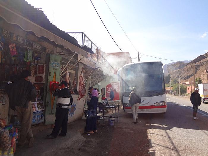 Autocarro Marrakech Ouarzazate Marrocos