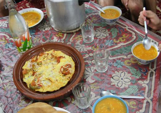 Culinária marroquina, pratos marroquinos