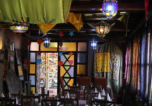 Restaurant des Dunes, Pizzaria em Erfoud no Deserto Marrocos