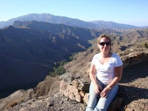 Rita Leitão nas Montanhas do Atlas