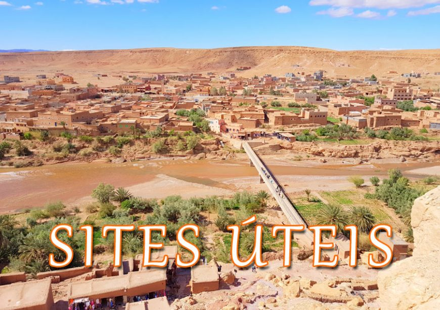 Sites de ajuda para viajar em Marrocos