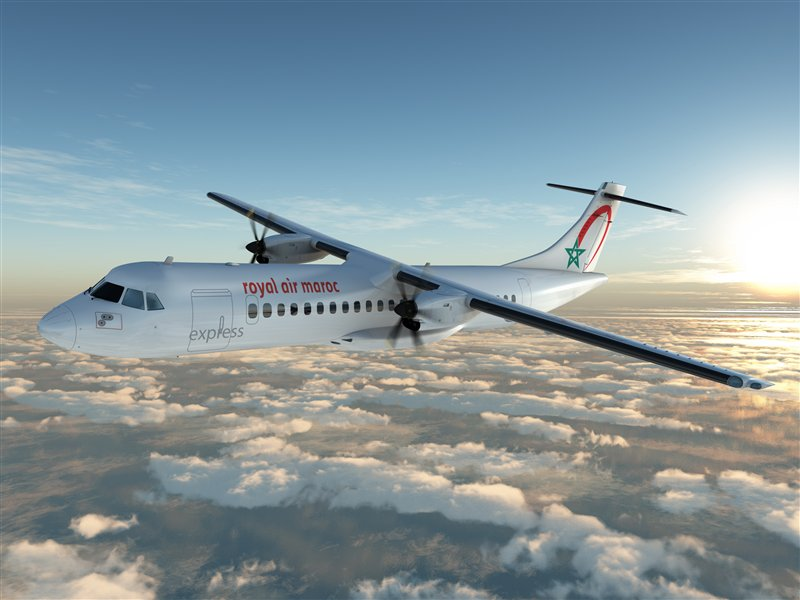 ATR-72 600 royal air maroc