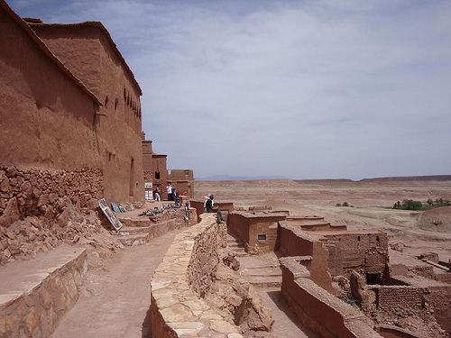 Photo of Ait Benhaddou in Ouarzazate Morocco