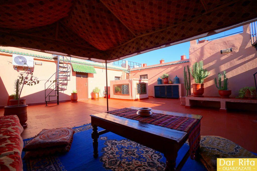 Terrace of Dar Rita