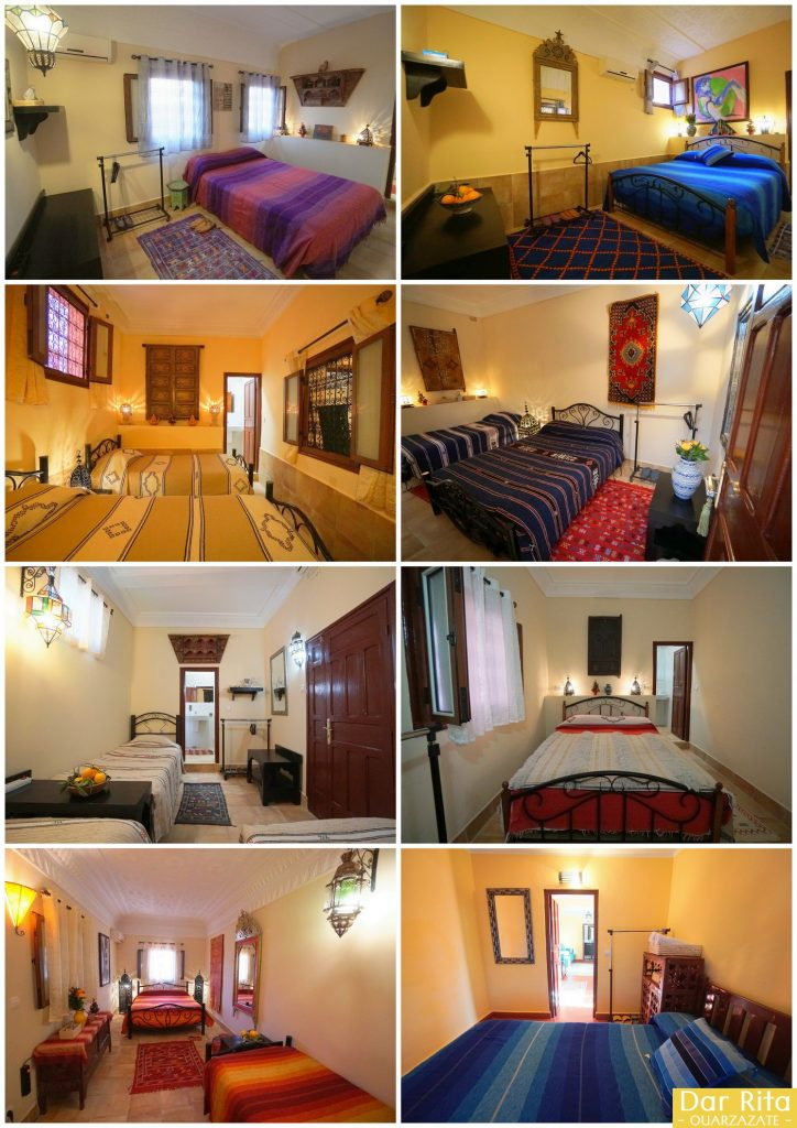 Rooms of Dar Rita Boutique Guest House