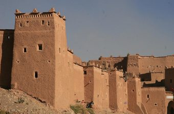 Kasbah Taourirt in Ouarzazate Morocco