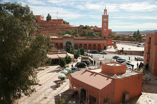 Somalian Mosque in center Ouarzazate Morocco
