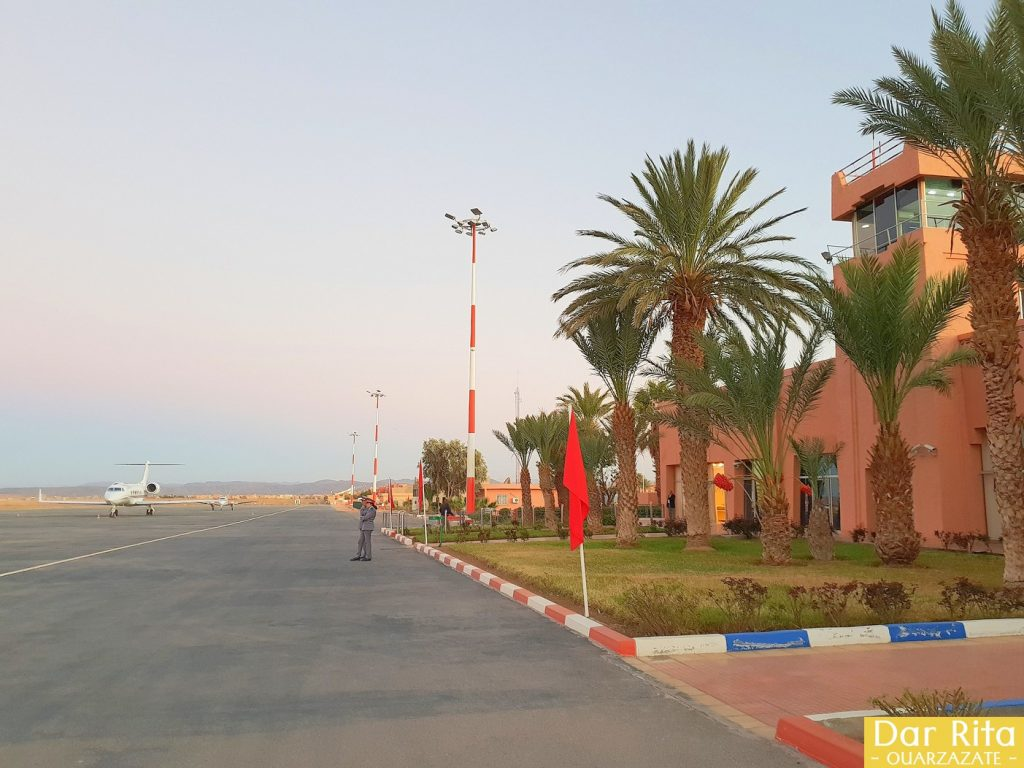 Photo of Ouarzazate Airport in Morocco