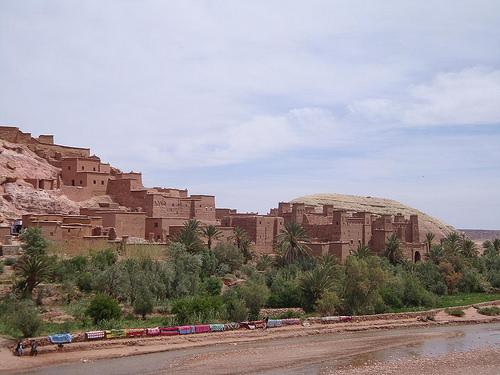 Ait Benhaddou in Ouarzazate Morocco