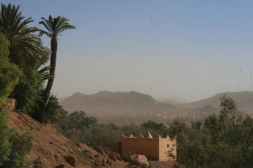 Mountains in Ouarzazate Morocco
