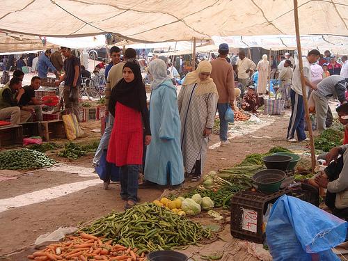 Ouarzazate Sunday Market Ouarzazate Morocco