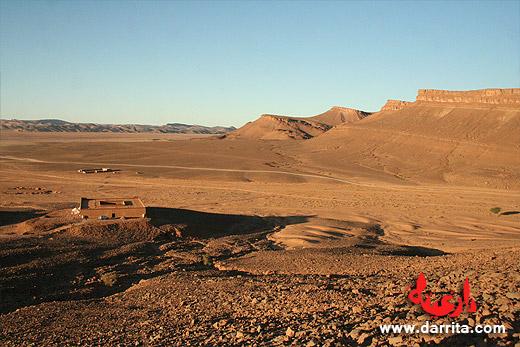 Desert tracks to Foum Mharech