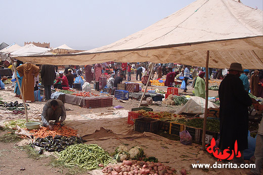 Photo of Sunday Market Souk in Ouarzazate