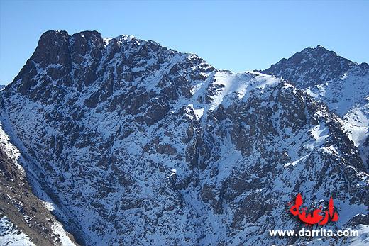 Toubkal and M'Goun top climbing