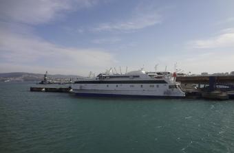 Fronteira Tanger Marrocos Ferry