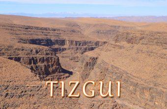 Cascatas de Tizgui, Quedas de água no início do Vale do Draa
