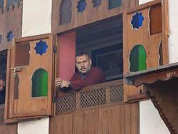 Marroquino à janela, Fes